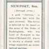 Borough arms, Newport, Mon.