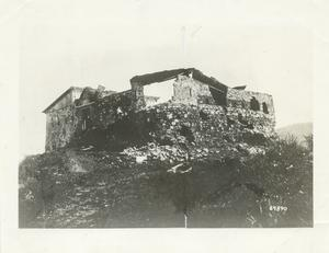 Stone fort at El Caney, Cuba, 1898.