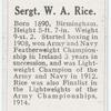 Sergt. W.A. Rice.