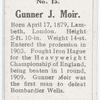 Gunner Moir.