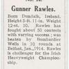 Gunner Rawles.