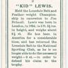"""""""Kid"""" Lewis."""