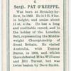 Sergt. Pat O'Keeffe.