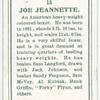 Joe Jeannette.