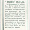 """Digger"" Stanley."