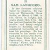 Sam Langford.