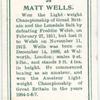 Matt Wells.