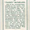 """Packey"" McFarland."
