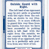 Outside guard with right.