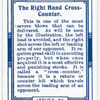 Right hand cross-counter.