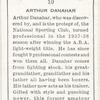 Arthur Danahar.