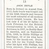 Jack Doyle.