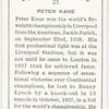 Peter Kane.