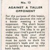 How Short Boxer Must Tackle Taller Opponent.