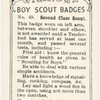 Second Class Scout.