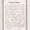 Camp Table.