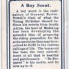 A Boy Scout.
