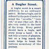 A Bugler Scout.