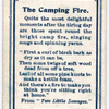The Camping Fire.