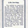 Life Saving.