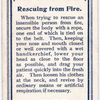 Rescuing from Fire.