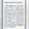 Improvised Stretchers.