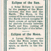 Eclipse of the Sun.  -  Eclipse of the Moon.