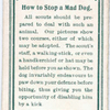 How to stop a mad dog.