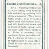 Indian Club Excercises. - 3.