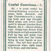 Useful Excercises. - 1.