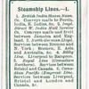 Steamship Lines. - 1.