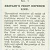 Britain's First Defence Line.