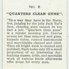 """Quarters Clean Guns""."
