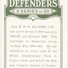 Gen. E.H. Allenby, C.B.