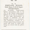 Westland Wizard.