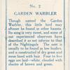 Garden warbler.