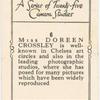 Miss Doreen Crosley.