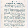 A Tribute to the Mercantile Marine.