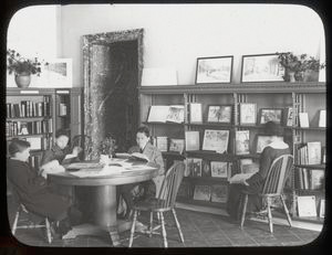 Central Branch Main Children's Reading Room Christmas Exhibit Room