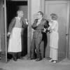 John Altieri, Tullio Carminatia and Muriel Kirkland in Strictly Dishonorable by Preston Sturges. NYC, 1930.