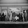 L to R: Lee Baker (Carl Anthony?) as Judge Dempsey, Tullio Carminati as Count Di Ruvo, Muriel Kirkland as Isabelle Parry, Louis Jean Heydt as Henry Greene...