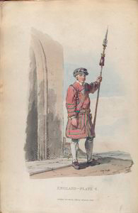 Yeoman of the guard.