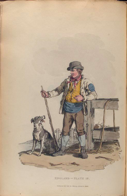 This is What William Alexander and Drover Looked Like  in 1814
