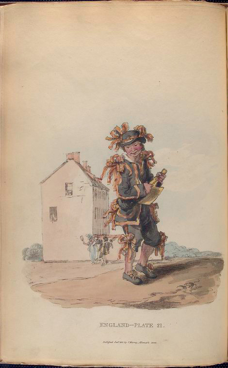 This is What William Alexander and Chimney-sweeper on the first of May Looked Like  in 1814