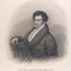 Sigr. Giuseppe De Begnis of the Italian Opera London.