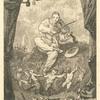 Frontispice pour les Odes funambulesques, de Th. de Banville.]