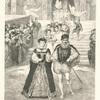 Henri Darnley et Marie Stuart sortant de l'église après leur mariage.