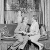 Alfred Lunt (Clark Storey) and Margalo Gillmore (Monica Grey).