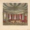 Octangular tent room.