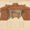 Pedestal sideboard and wine cooler.